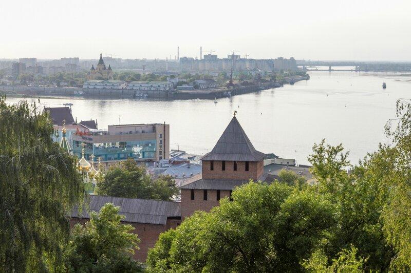Стрелка Волги и Оки, Нижегородский кремль