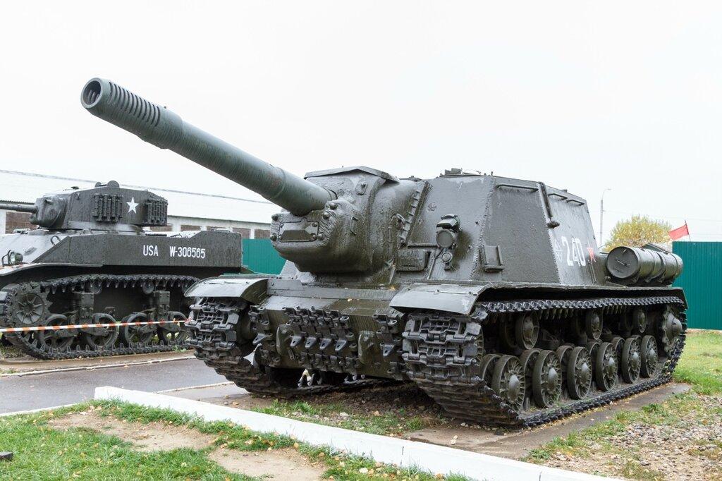 """152-мм самоходная арт. установка ИСУ-152 """"Зверобой"""", Кубинка"""