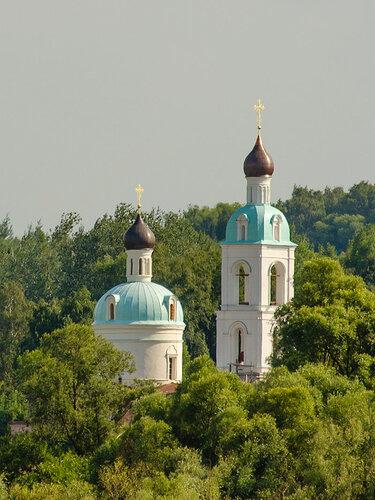 Храм Николая Чудотворца в Лукьяново (Серпуховский район).)