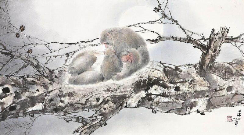 Об обезьянках+ / Lam Wu-fui