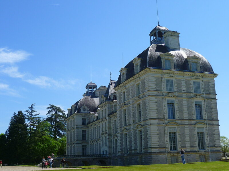 Франция, замок Шеверни (France, castle of Cheverny)