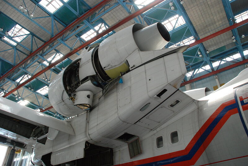 БЕ-200ЧС в ТАНТК им. Г.М. Бериева (Таганрог)