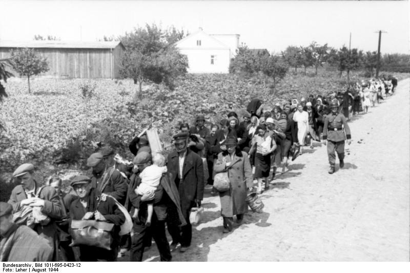 Warschauer Aufstand, flьchtende Zivilisten