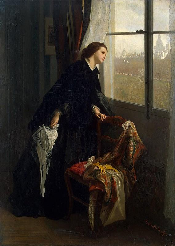 Густав Леонард де Йонге, Переменчивая погода, 1860, Эрмитаж, Санкт-Петербург