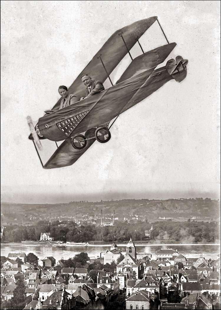 Художественные фоны для фотографий авиационной и воздухоплавательной тематики (24)