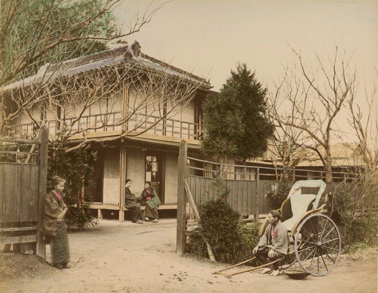 Иокогама. Чайный домик