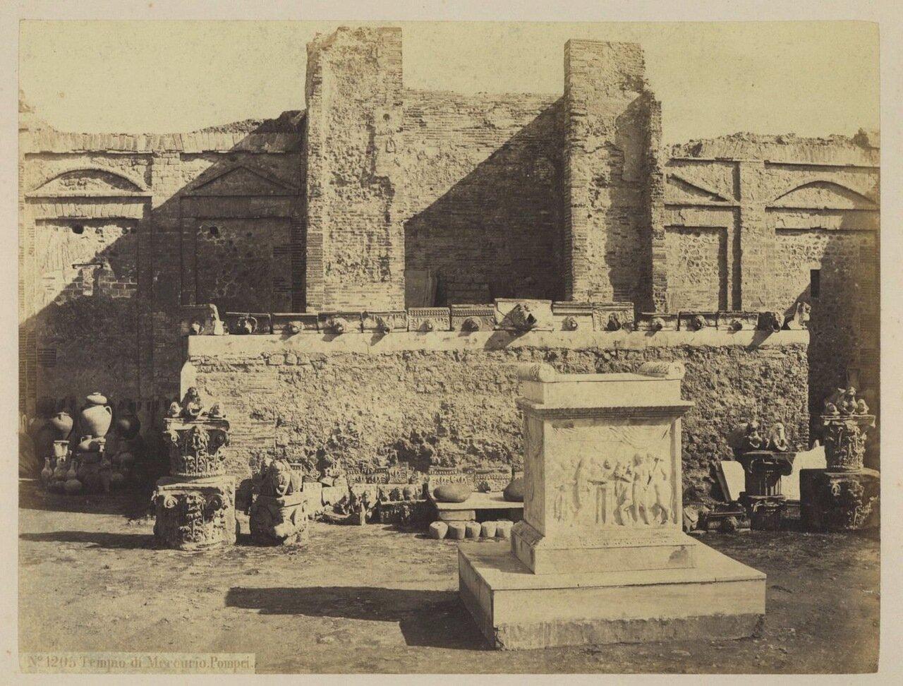 1880. Храм Меркурия