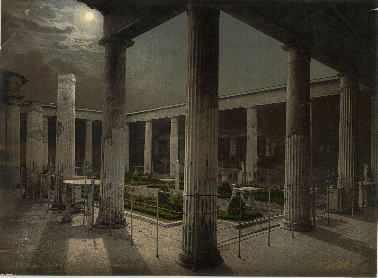 1880. Вид на Перистиль