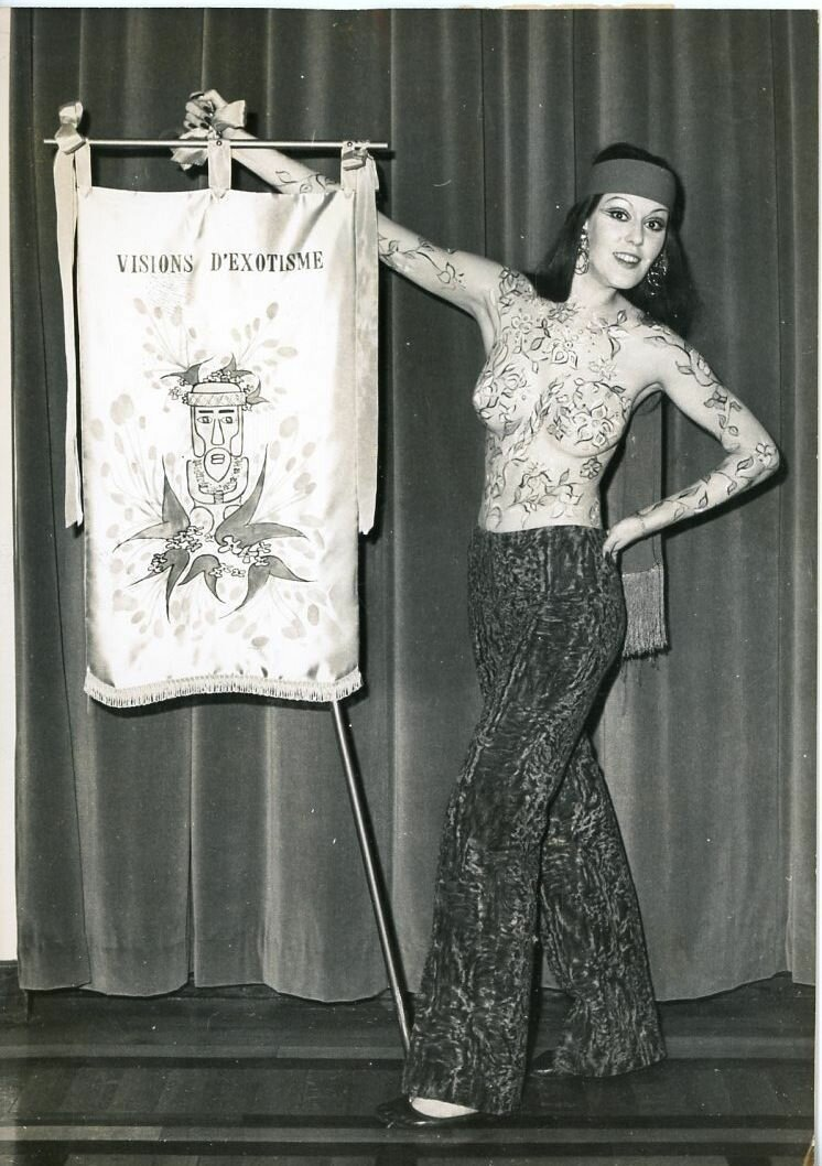 1970. Натали Варалло. «Мисс Карнавал»