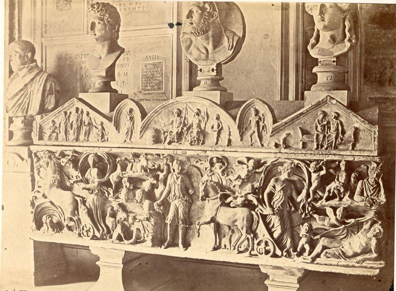 Музей Ватикана. Саркофаг. 1870