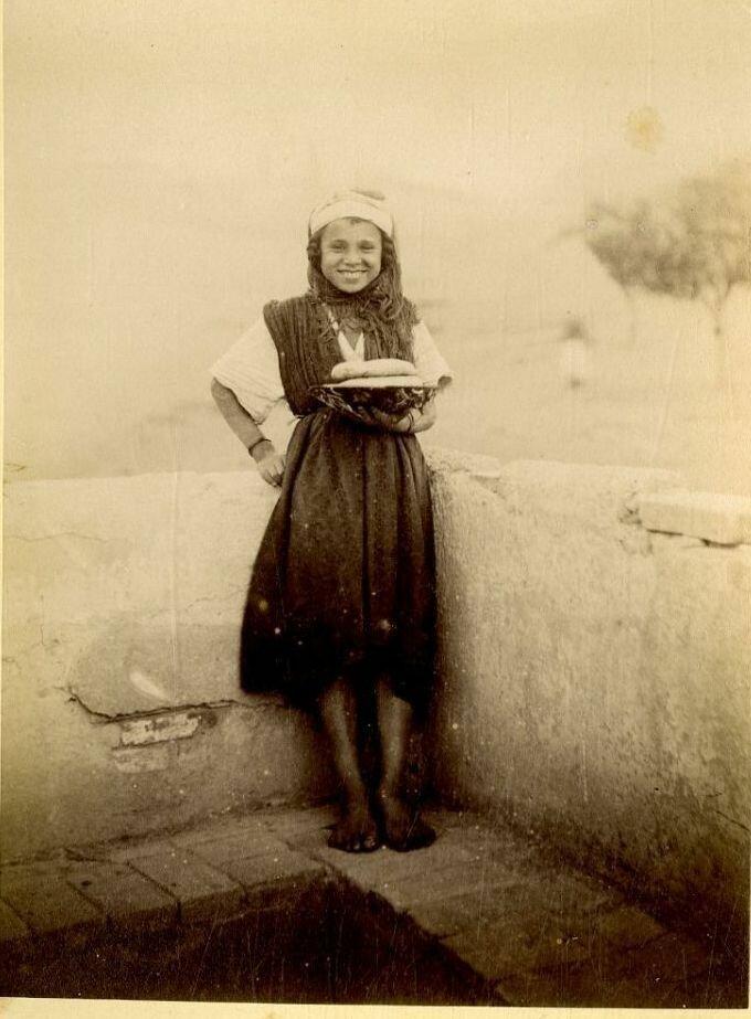 1875. Продавец лепешек