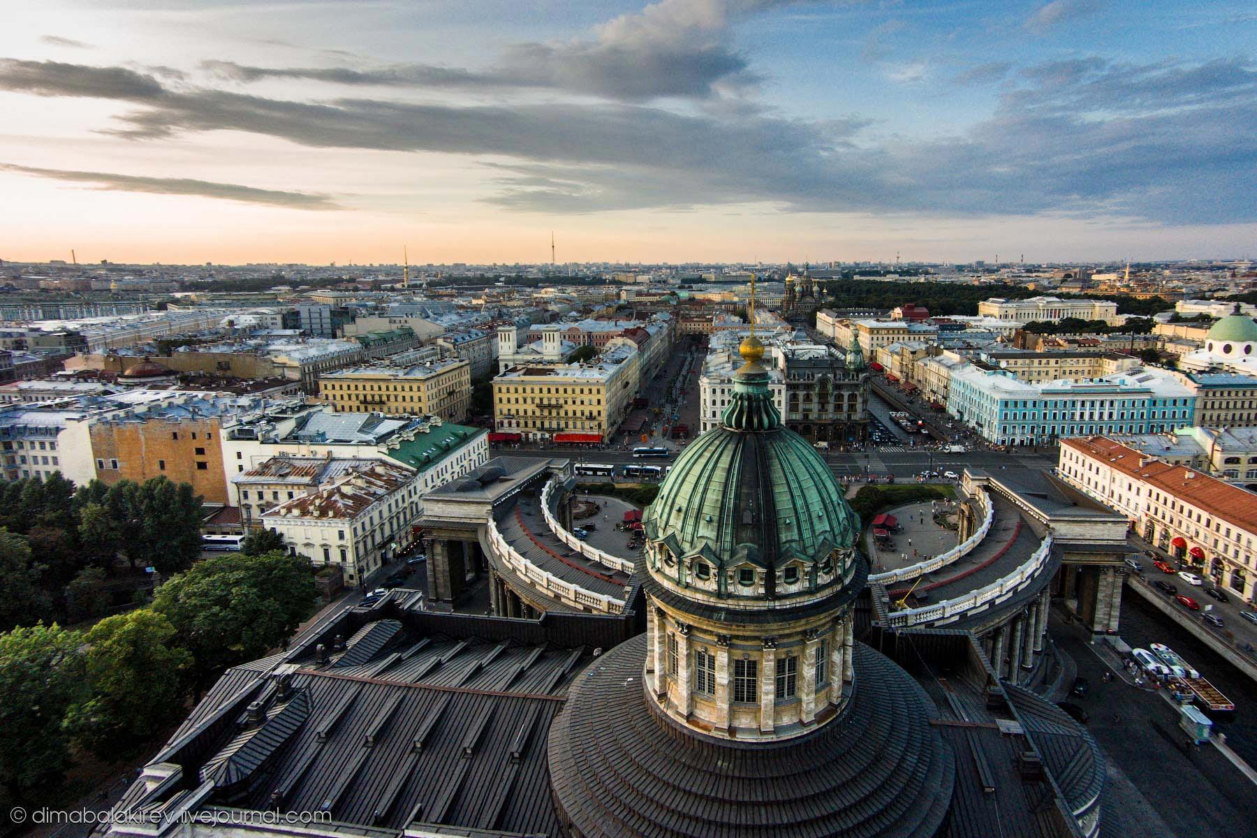 Санкт-Петербург с высоты птичьего полёта: dimabalakirev ...