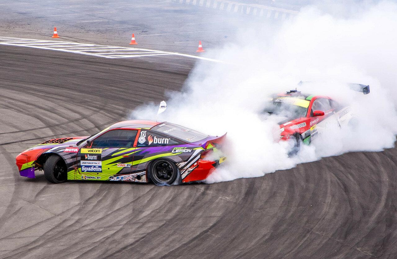 Никита Шиков (Nissan 350Z) vs Максим Шатило (Nissan S13)