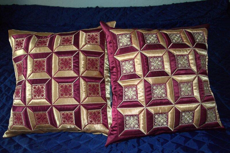 Красивые подушки. Пошив. Мастер-класс
