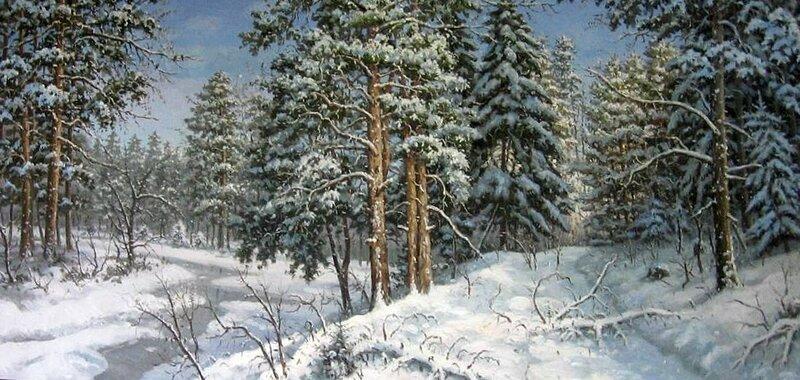Сергей Хананин. Сосновый лес.jpg
