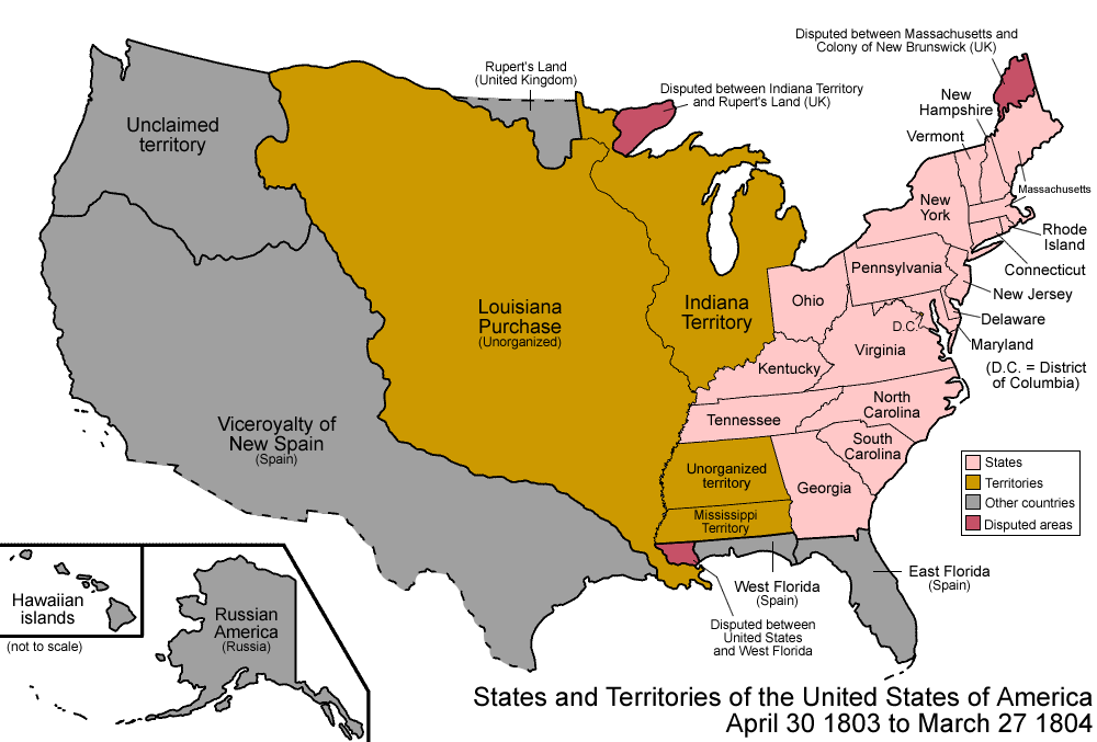 territorial expansion in the united states from 1800 1850 essay