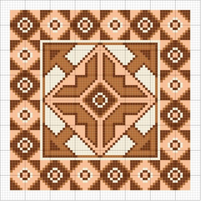вышивка крестом подушки схемы