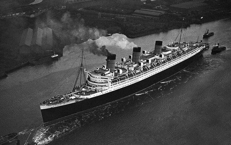 Scotland RMS Queen Mary Liner