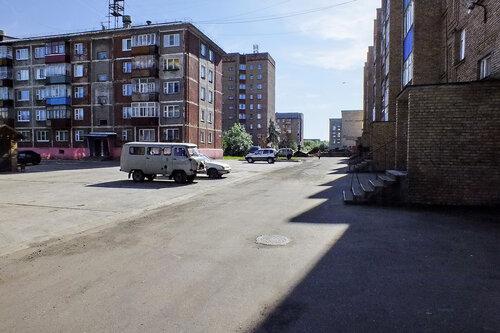 Фото города Инта №7058  Куратова 46, 48 и двор 50 13.08.2014_11:39