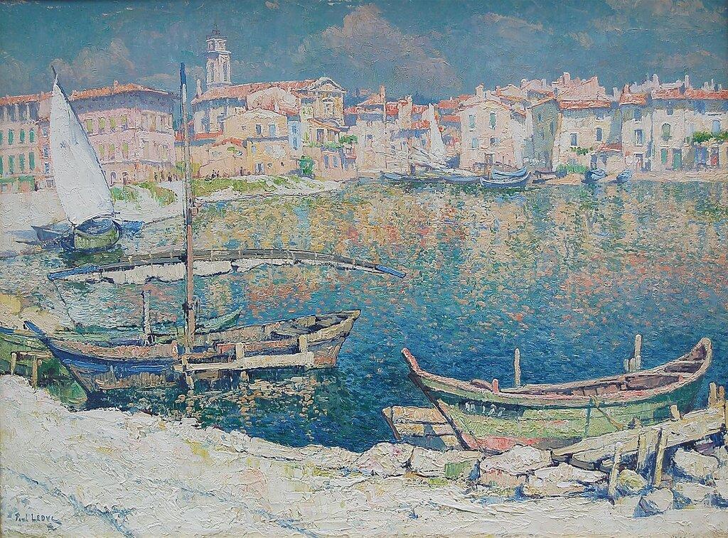 PAUL LEDUC - Vue de Martigues, Cote dтАЩAzur, France - 89452-1184.jpg