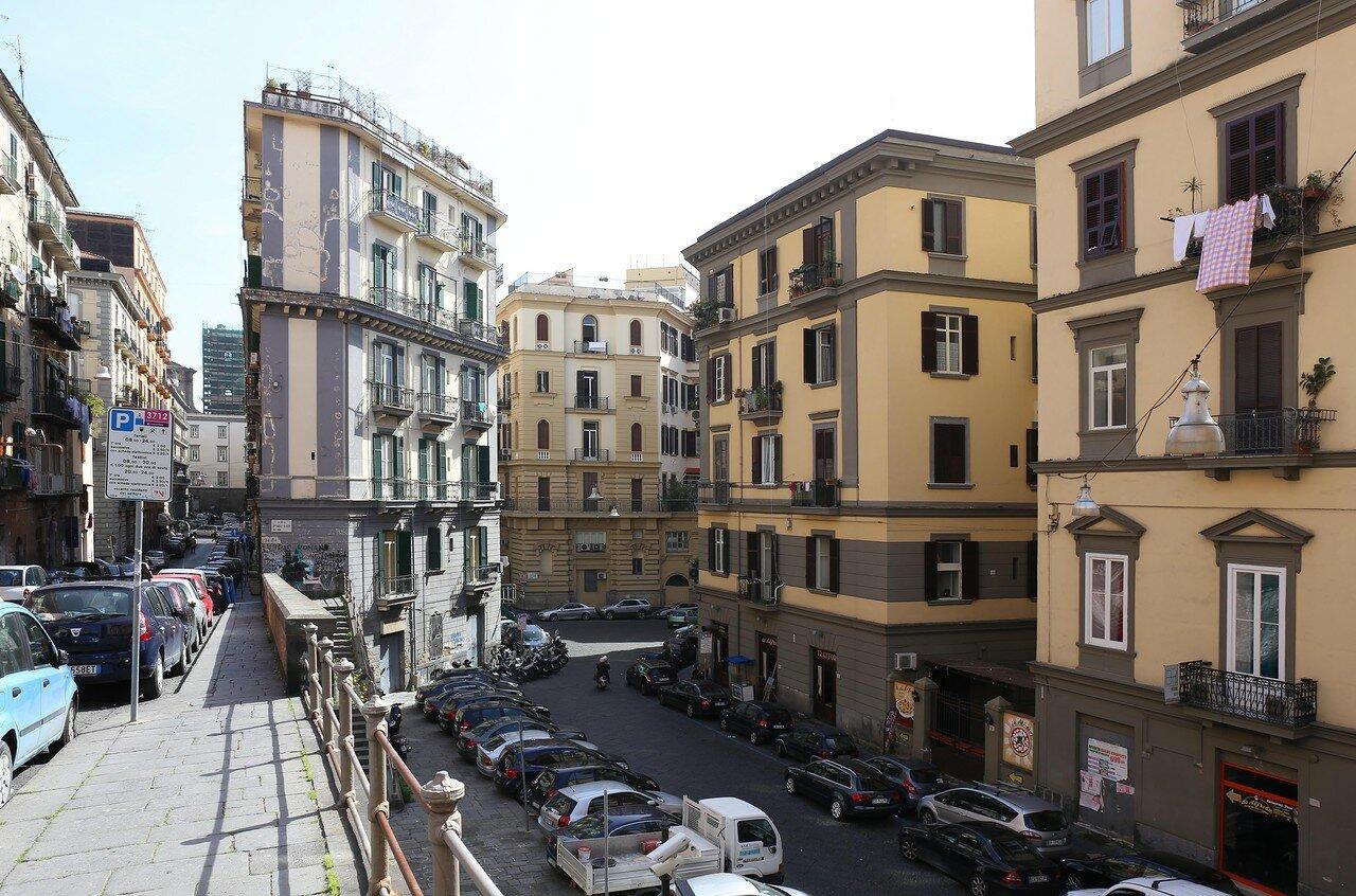 Naples. Arcangelo Scacchi Square (Piazzetta Arcangelo Scacchi)
