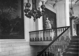 Часть парадной лестницы.