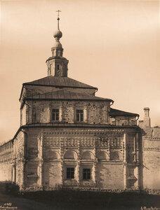 Вид восточного фасада Никольской церкви бывшего Успенского Горицкого монастыря (основан в XII в.,упразднён в 1788 г.).