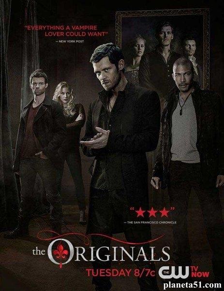 Древние (Первородные) / The Originals - Сезон 2, Серии 1-22 (22) [2014, WEB-DLRip | WEB-DL 1080p] (LostFilm)