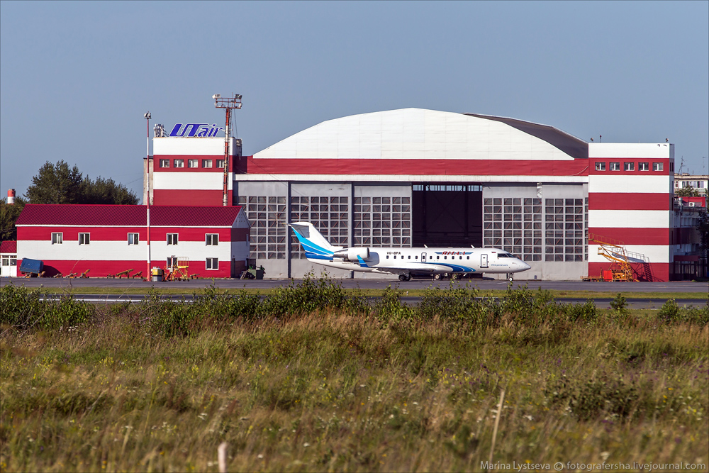 Тюмень, аэропорт Рощино