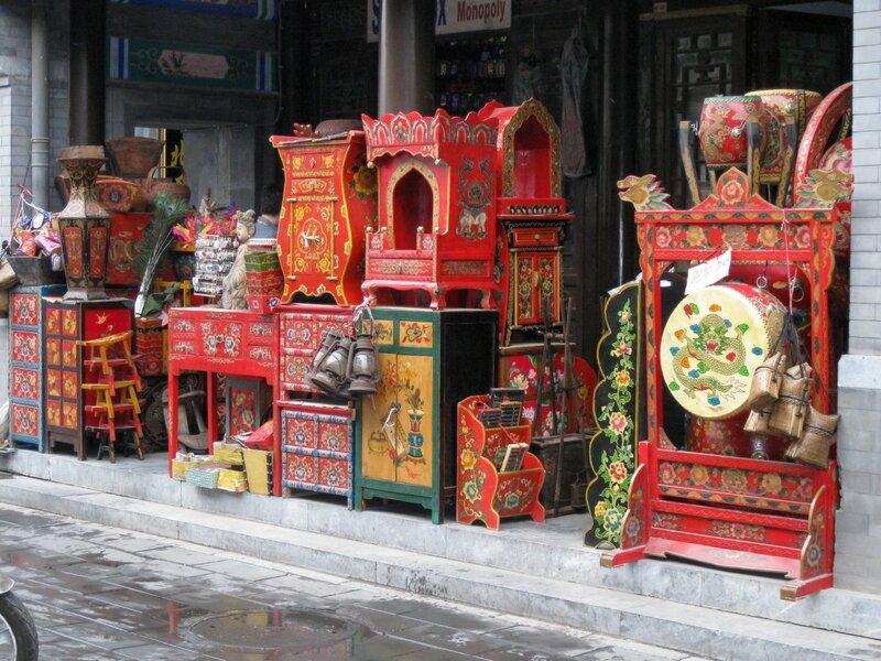 Мебель, рынок Паньцзяюань, Пекин