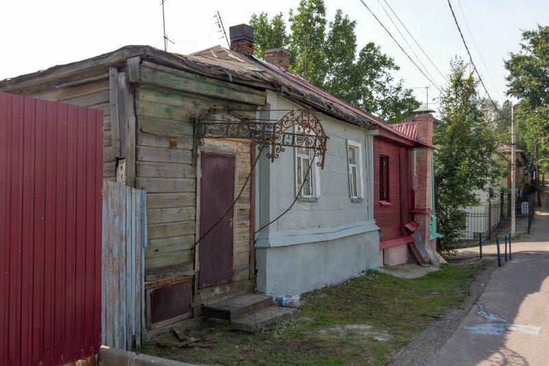 Старый дом, Георгиевская улица, Владимир