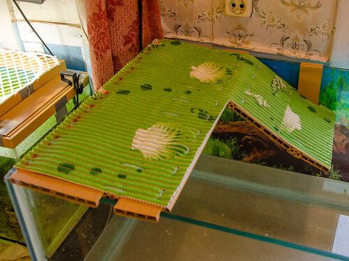 Островок для красноухой черепахи своими руками (фото)