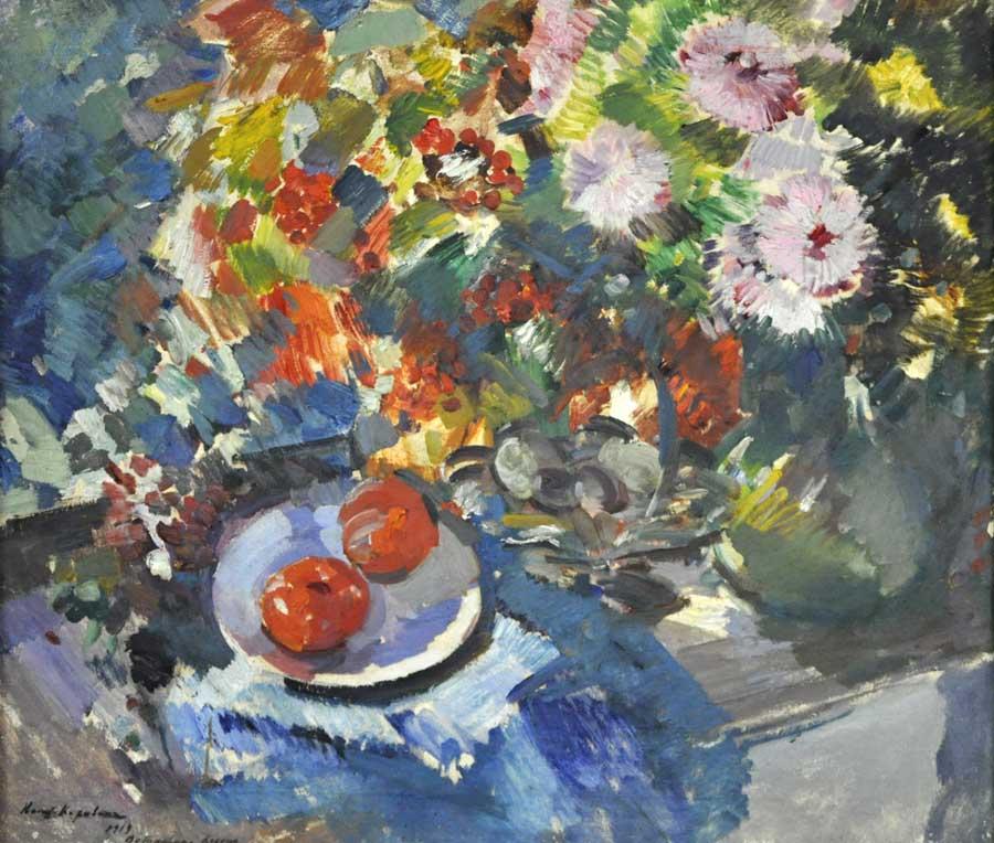 Коровин. Астры и помидоры 1919 900.jpg