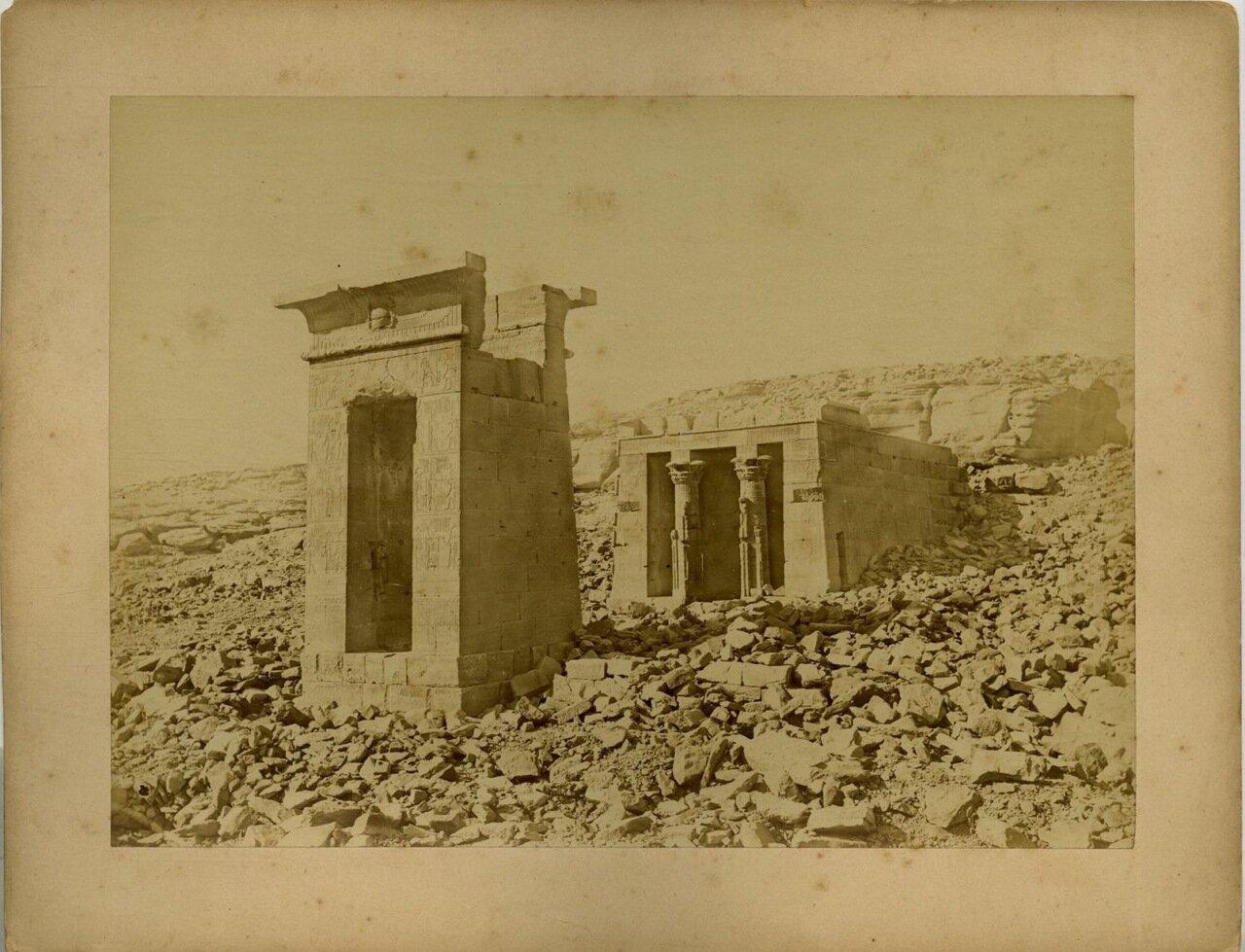 Храм Doudour. 1875