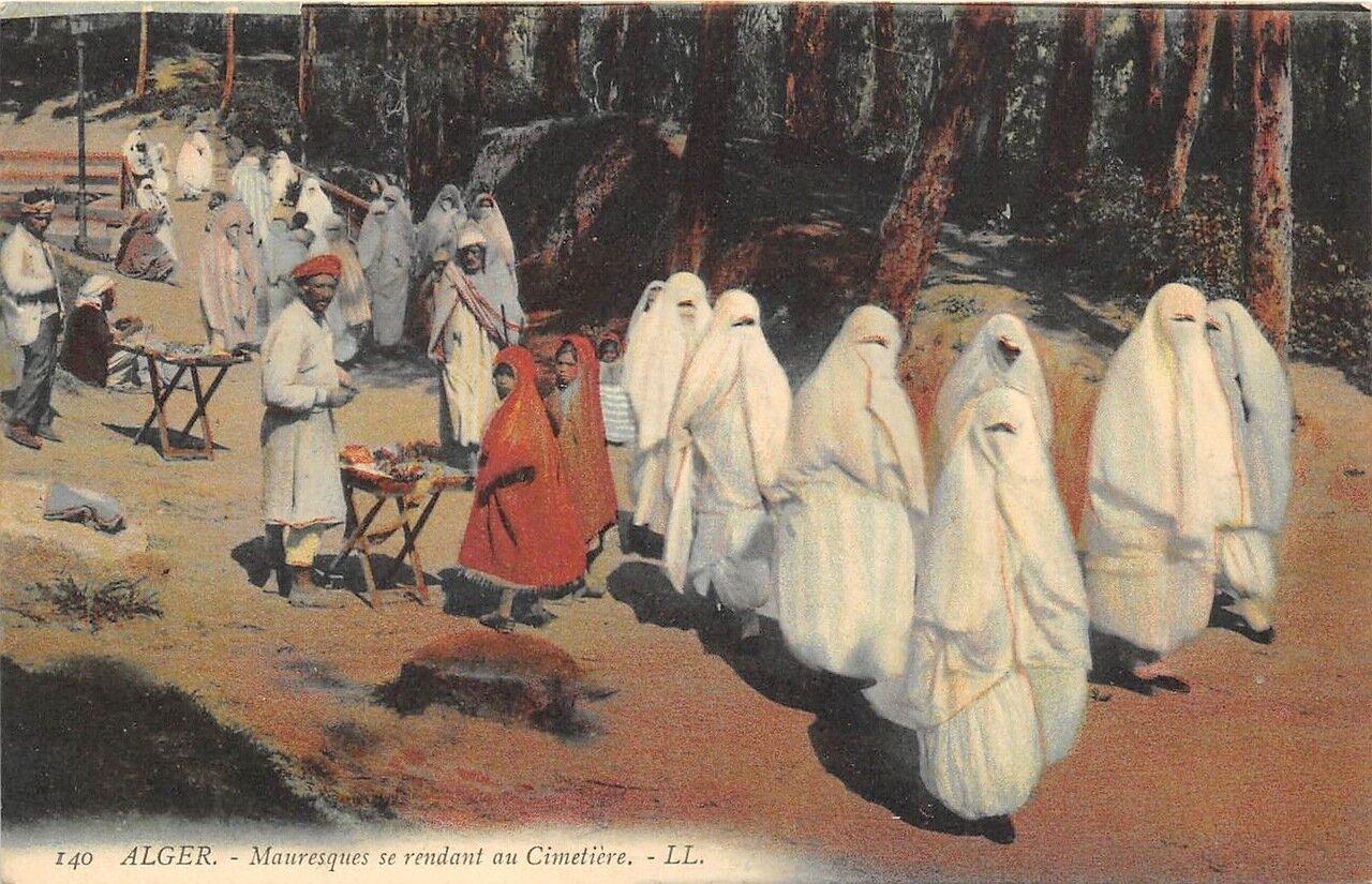 1900. Мавританцы на кладбище
