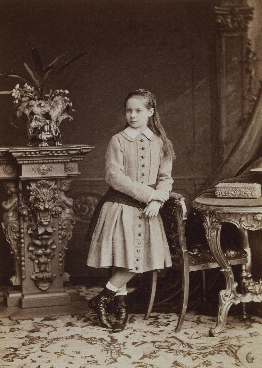 Портрет Зинаиды Николаевны Юсуповой в восьмилетнем возрасте