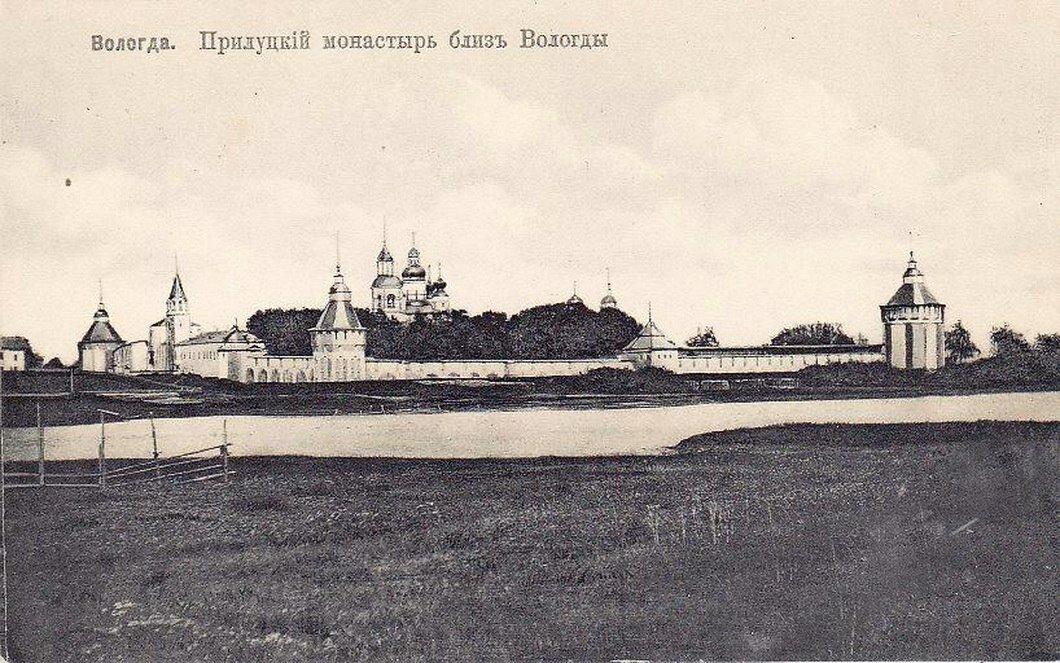Окрестности Вологды. Прислуцкий монастырь