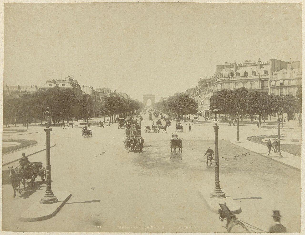 1870-е. Карре Мариньи
