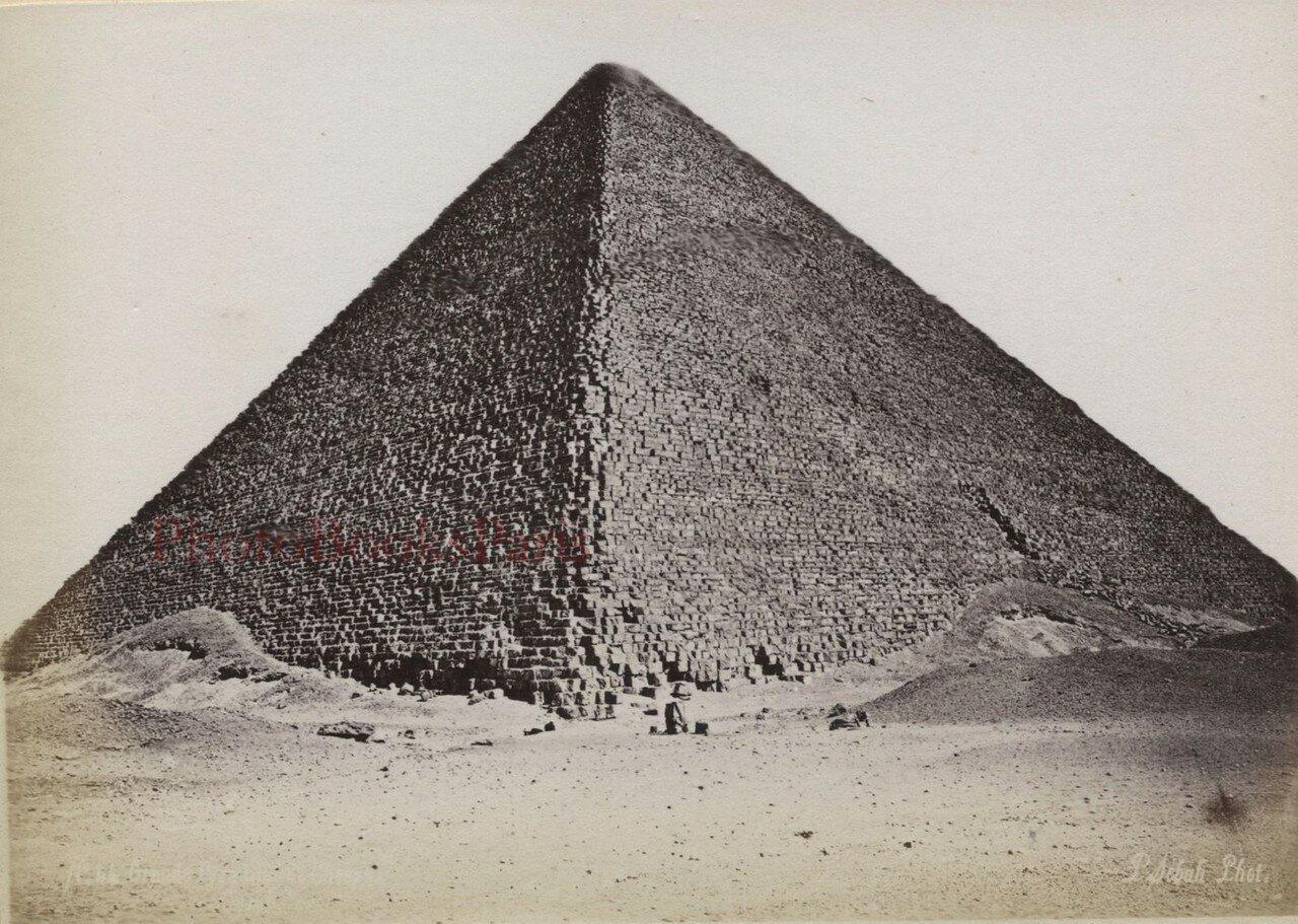 Гиза. Пирамида Хеопса. 1880-е
