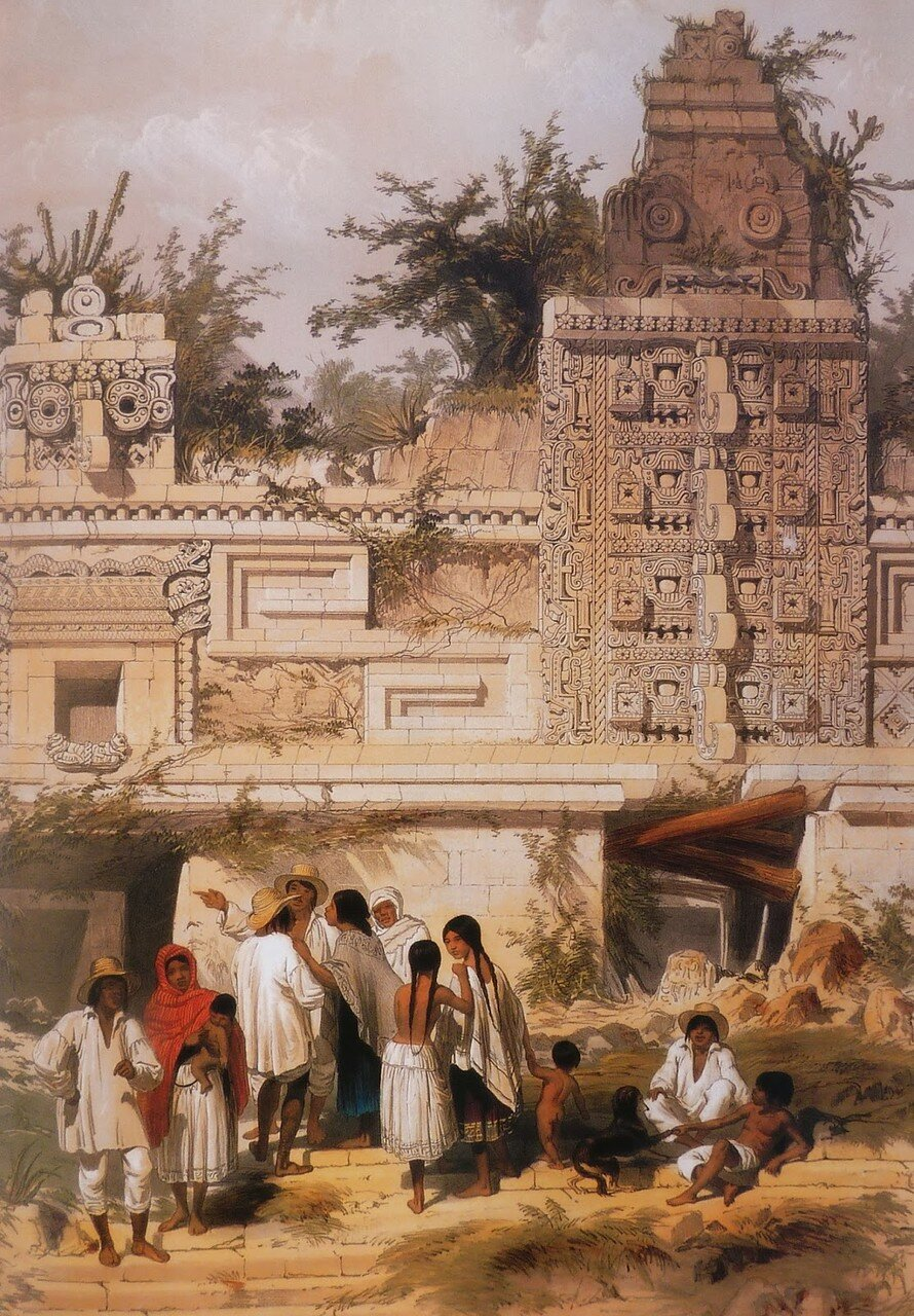 25. Ушмаль. Четырехугольный монастырь