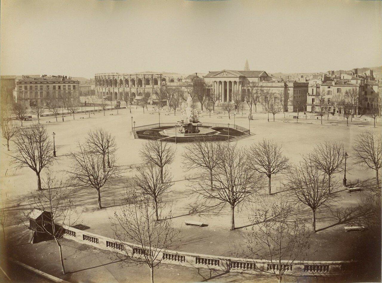 Амфитеатр. Вид с площади. 1860-е