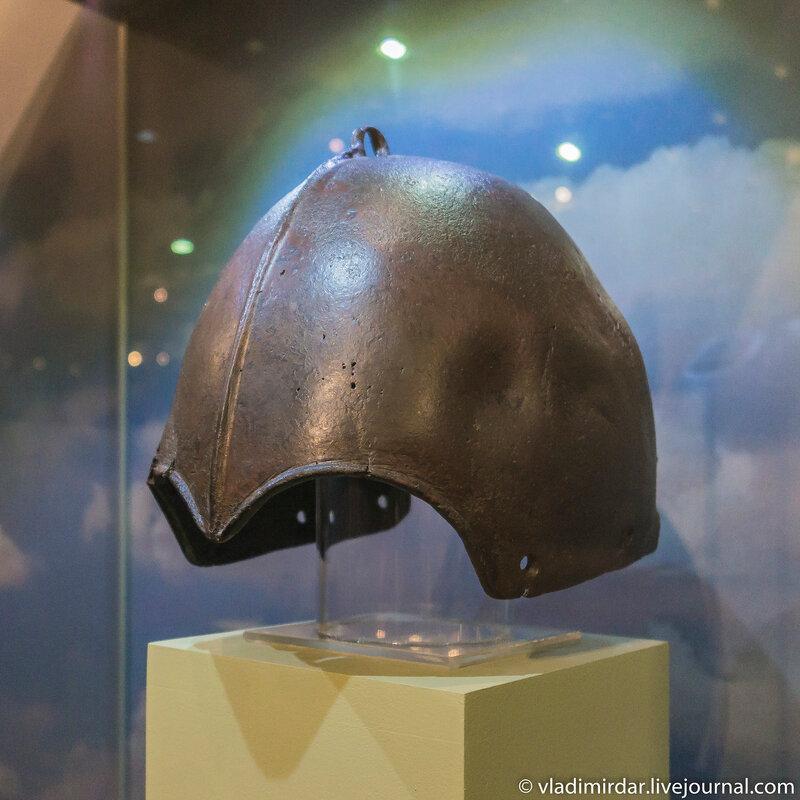 Боевой шлем кочевника