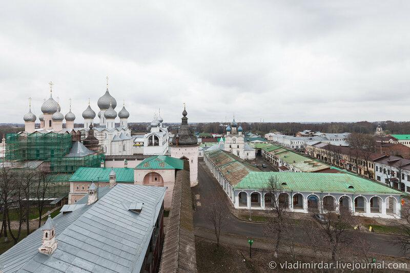 Ростов Великий. Ростовский кремль.