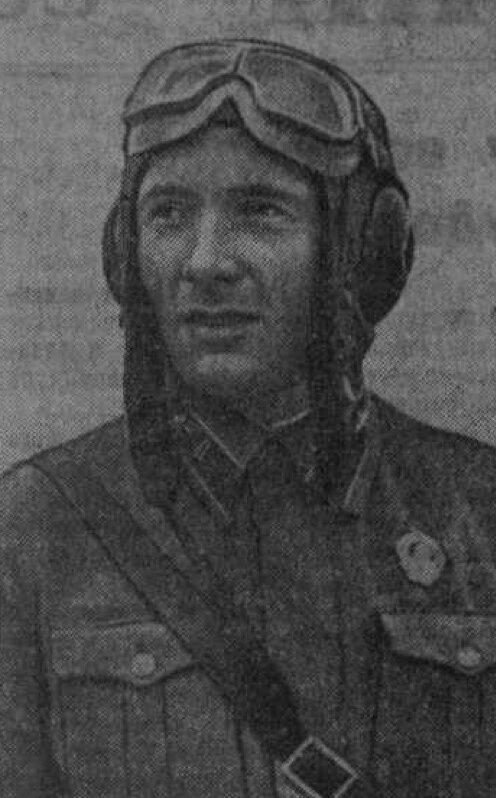 Герой Советского Союза капитан Константин Николаевич Титенков