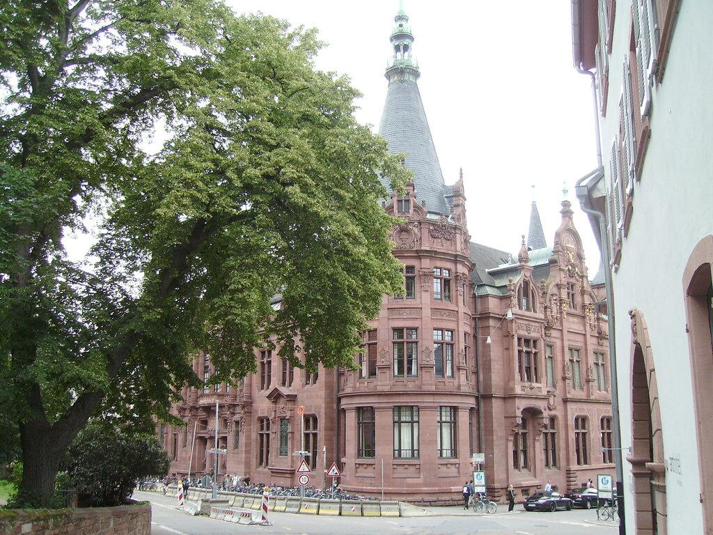 библиотека Гейдельбергского университета