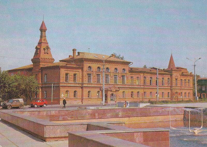ОМСК. Областная библиотека имени А.С. Пушкина