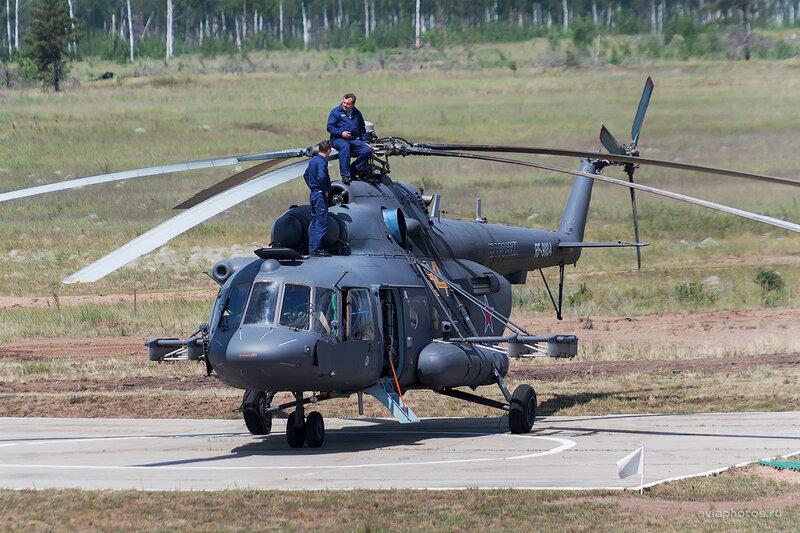 Миль Ми-8МТВ-5 (RF-91184 / 84 желтый) D805505b