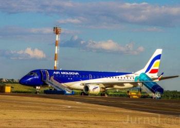 Air Moldova: Наши самолеты не пересекают зону украинского конфликта