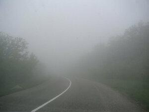 Территория Молдовы оказалась в плену густого тумана