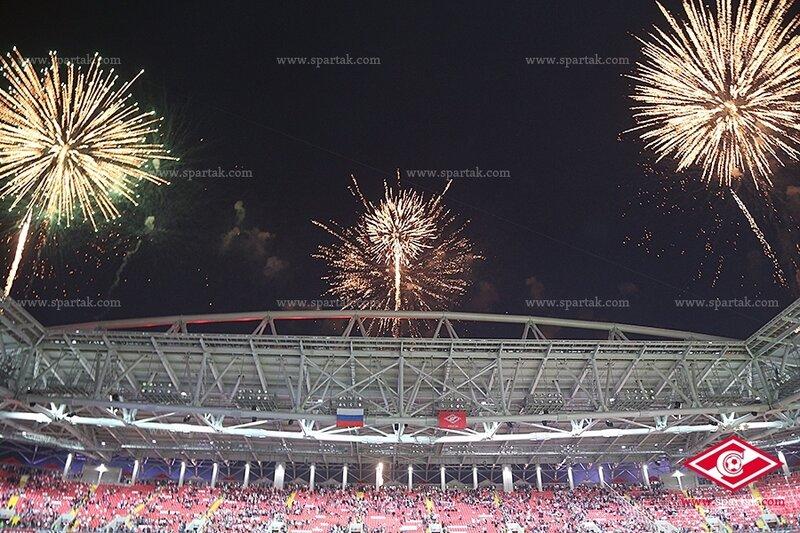 Матч открытия стадиона «Открытие Арены»: «Спартак» vs «Црвена Звезда» 1:1 (Фото)